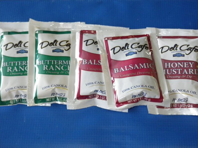 Handy Salad Dressing Packets