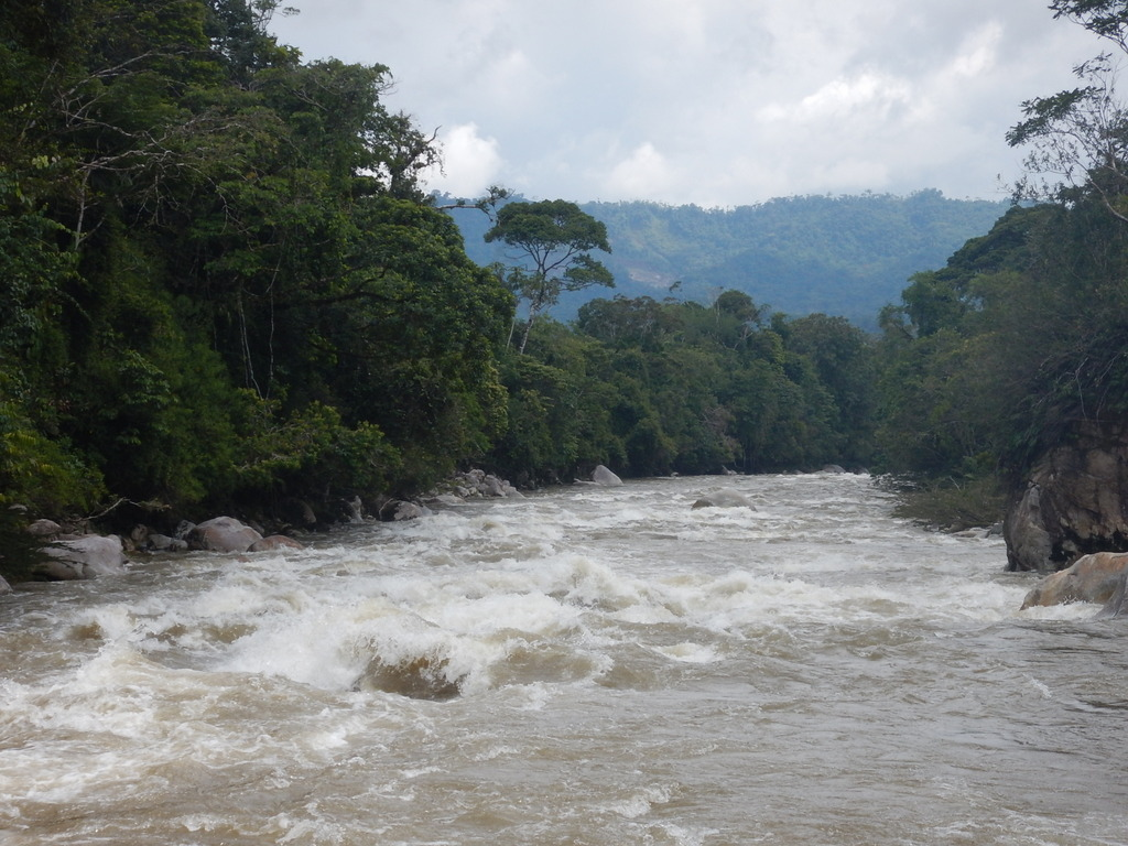 High water on the Rio Piatua